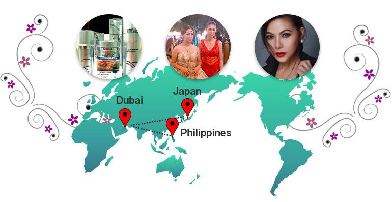 ユミヒロジャパン 日本、フィリピン、ドバイ